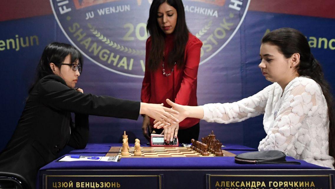 Znalezione obrazy dla zapytania mecz o mistrzostwo świata kobiet w szachach 2020