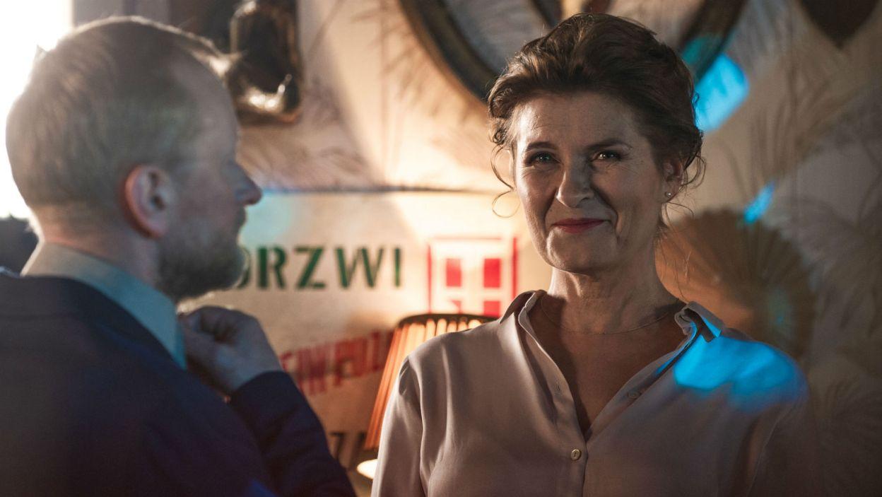 W telewizyjnym spektaklu rolę Zofii zagrała Joanna Jeżewska (fot. TVP)