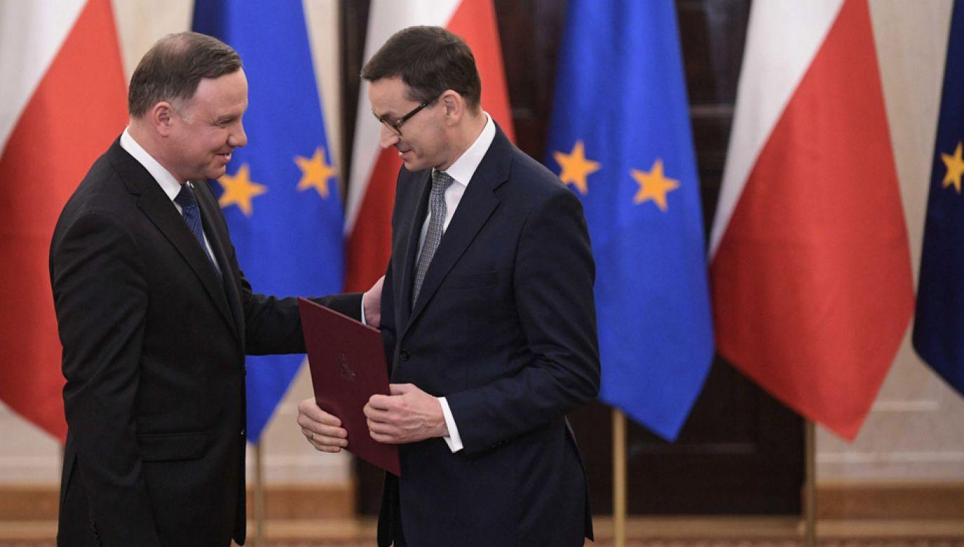Uroczystość powołania nowego rządu odbędzie się w Pałacu Prezydenckim (fot. PAP/Marcin Obara)