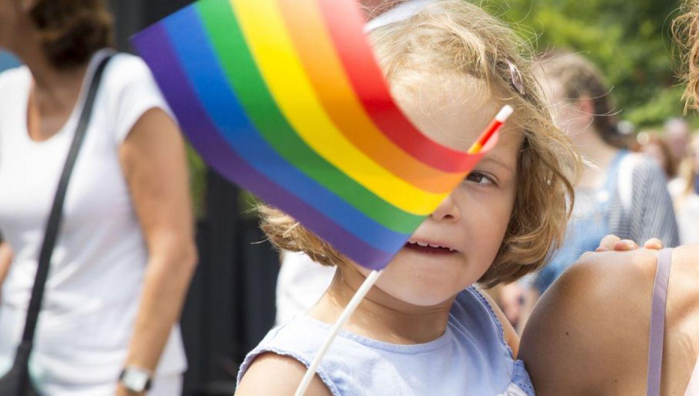 Specjaliści ideologii LGTB stosują długofalowe operacje na dzieciach, przygotowujące je do życia w nowej antychrześcijańskiej cywilizacji (fot. Shutterstock/Melanie Lemahieu)