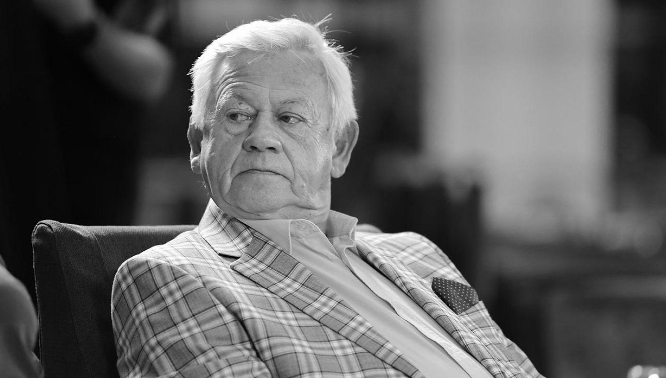 Władysław Szustorowski zmarł w piątek (fot. TVP)