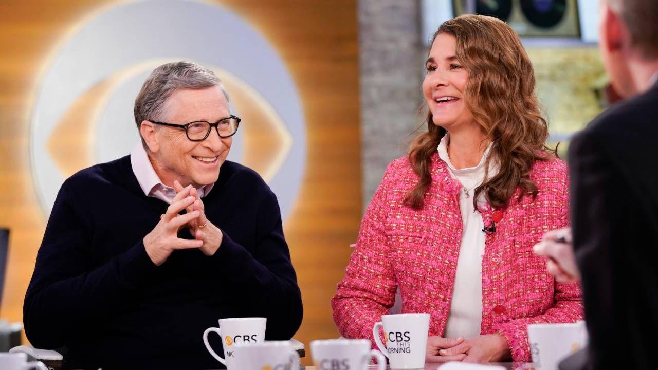 Bill i Melinda Gatesowie byli małżeństwem przez 27 lat (fot. Michele Crowe/CBS via Getty Images)