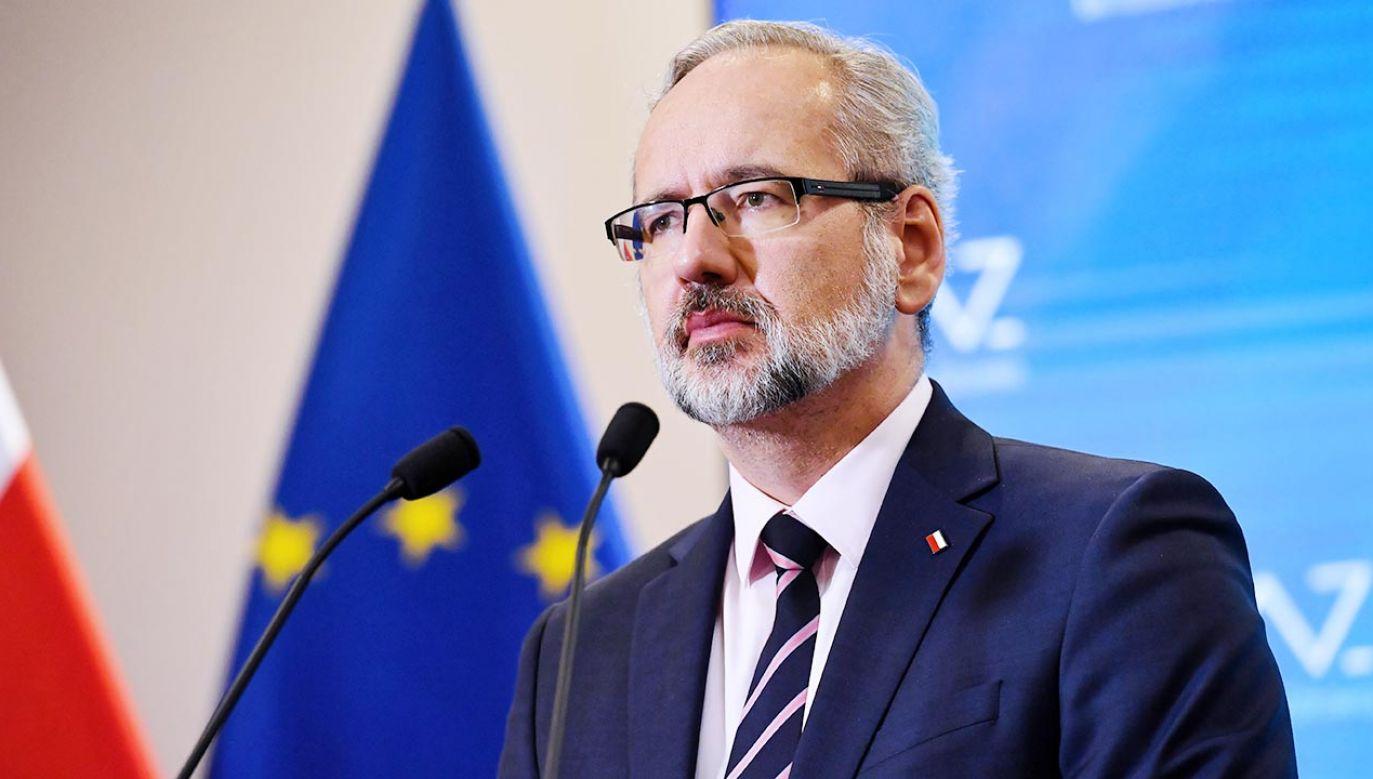 Minister zdrowia o prognozach dot. rozwoju czwartej fali koronawirusa (fot. PAP/Piotr Nowak)