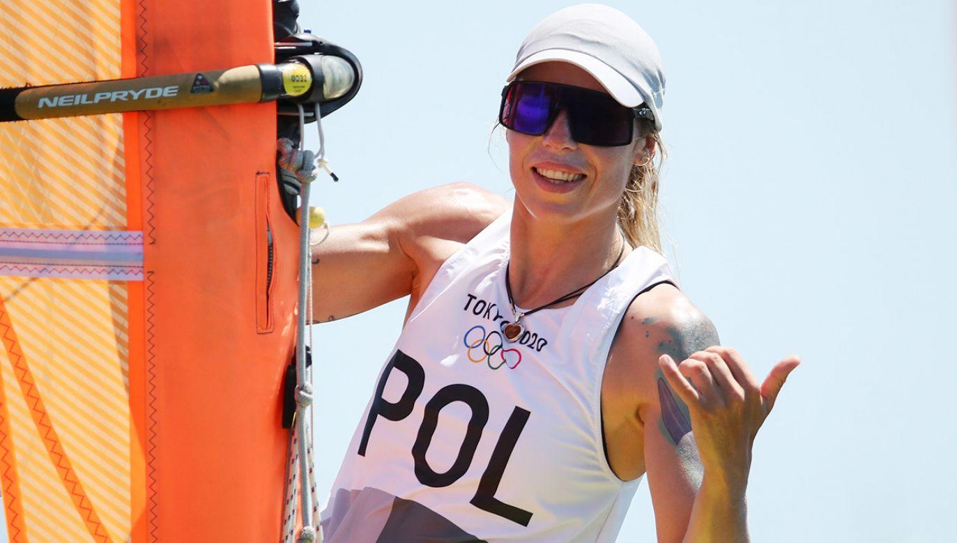 Zofia Noceti-Klepacka (fot. PAP/EPA/OLIVIER HOSLET)
