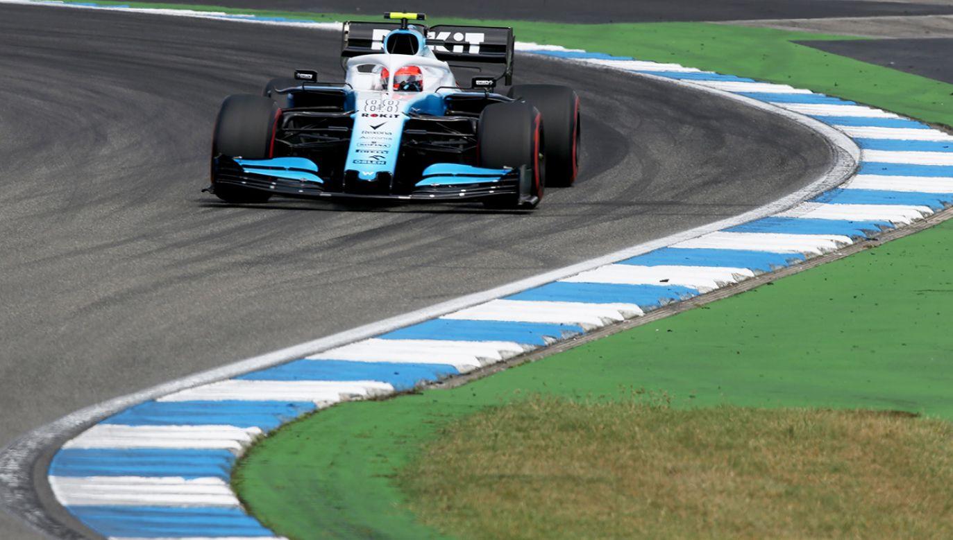 Niemal równo 13 lat temu na Hungaroringu Kubica zadebiutował – jako pierwszy i jedyny dotychczas polski kierowca – w Formule 1 (fot.  Charles Coates/Getty Images)