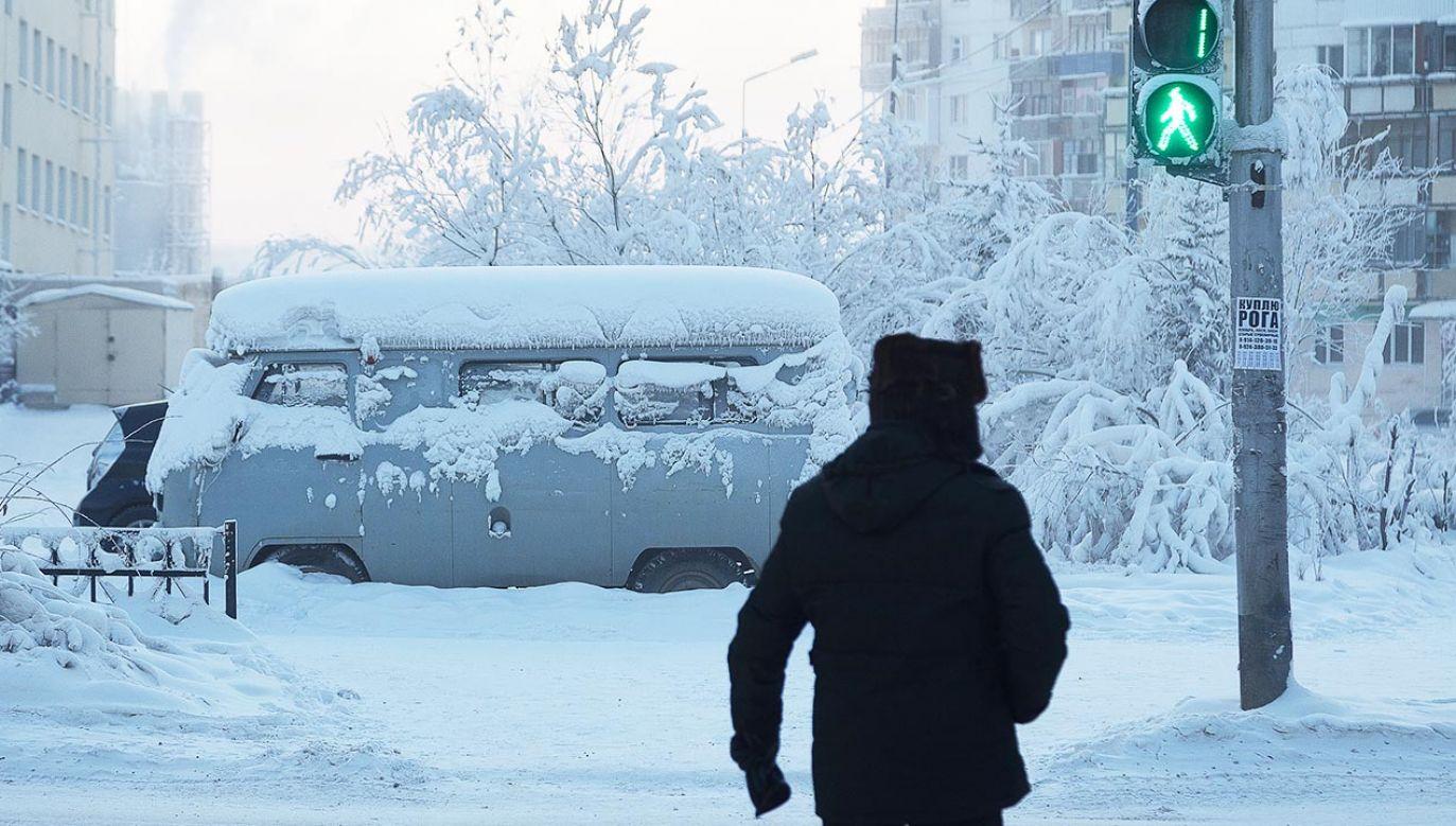 Jakucja słynie z ostrych mrozów (fot. Yevgeny Sofroneyev\TASS via Getty Images)