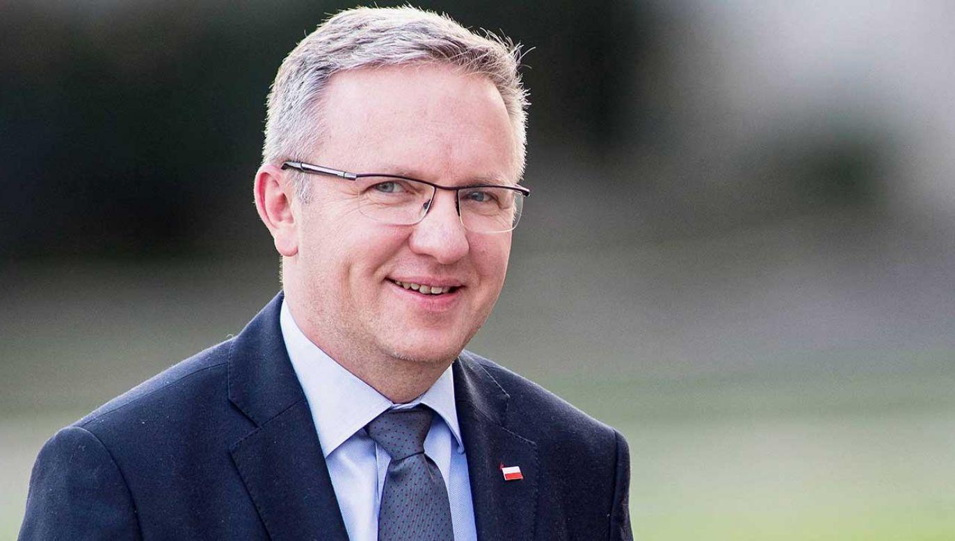 Krzysztof Szczerski kandyduje na wiceszefa NATO (fot. arch. PAP/Łukasz Gągulski)