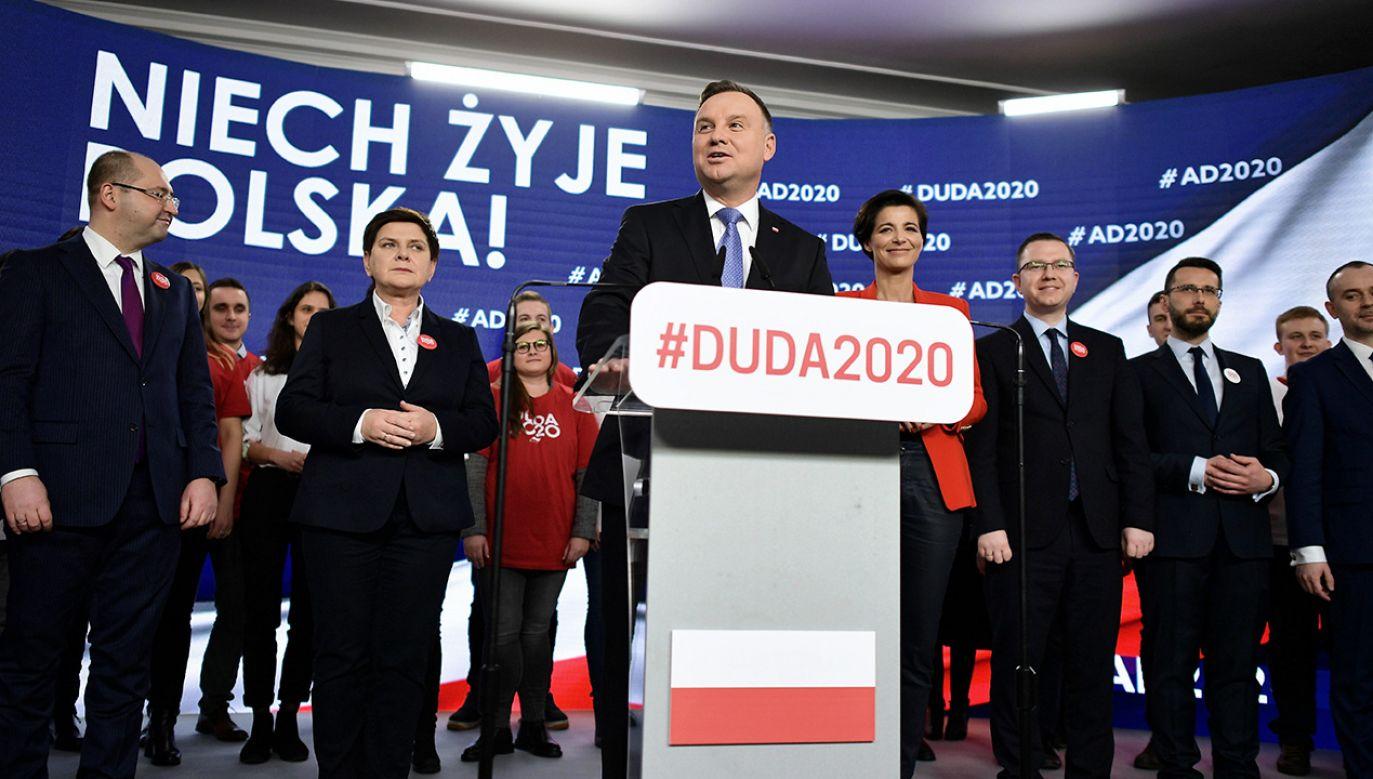 Andrzej Duda powalczy o reelekcję (fot. PAP/Marcin Obara)