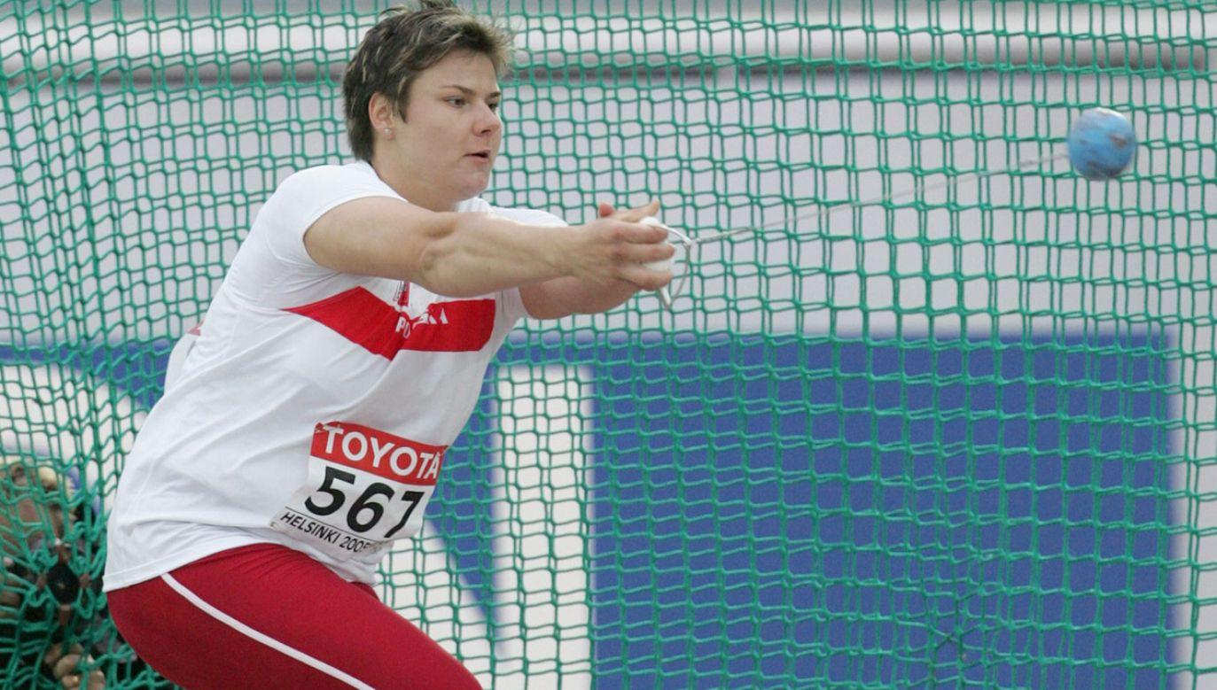 Mistrzyni olimpijska w rzucie młotem Kamila Skolimowska zmarła 18 lutego 2009 roku (fot. arch.PAP/Bartłomiej Zborowski)