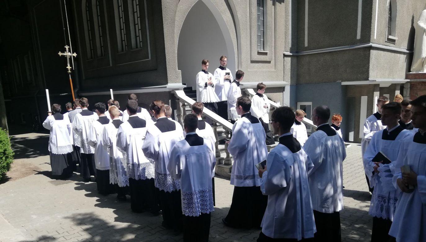 Na największe na świecie warsztaty liturgii tradycyjnej przybyło do Lichenia ponad 200 osób (fot. Piotr Chudziński