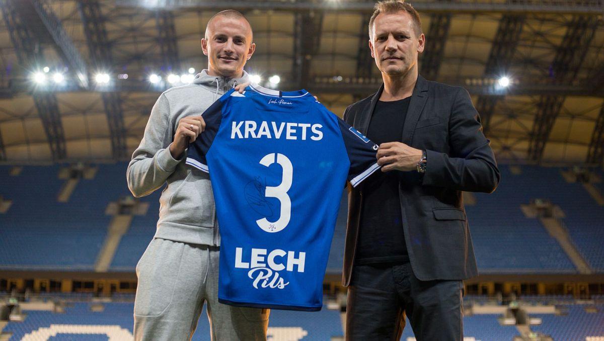 Transfery. Vasyl Kravets zawodnikiem Lecha Poznań