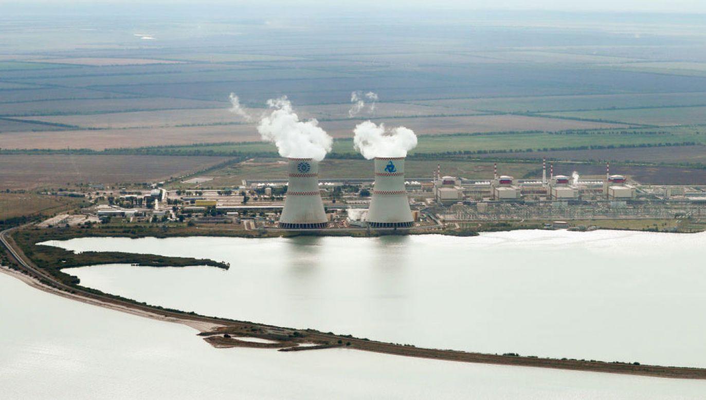 Awaria w elektrowni atomowej w pobliżu Wołgodońska na południu Rosji (fot. Erik Romanenko\TASS via Getty Images)
