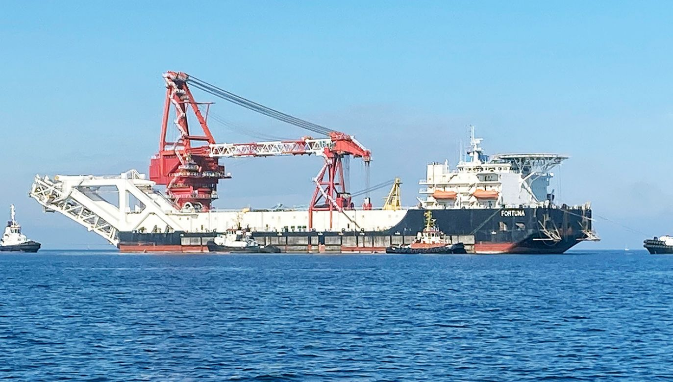 Rosyjskie statki wznowiły budowę gazociągu Nord Stream 2 (fot. REUTERS/Oliver Denzer/File Photo/File Photo)
