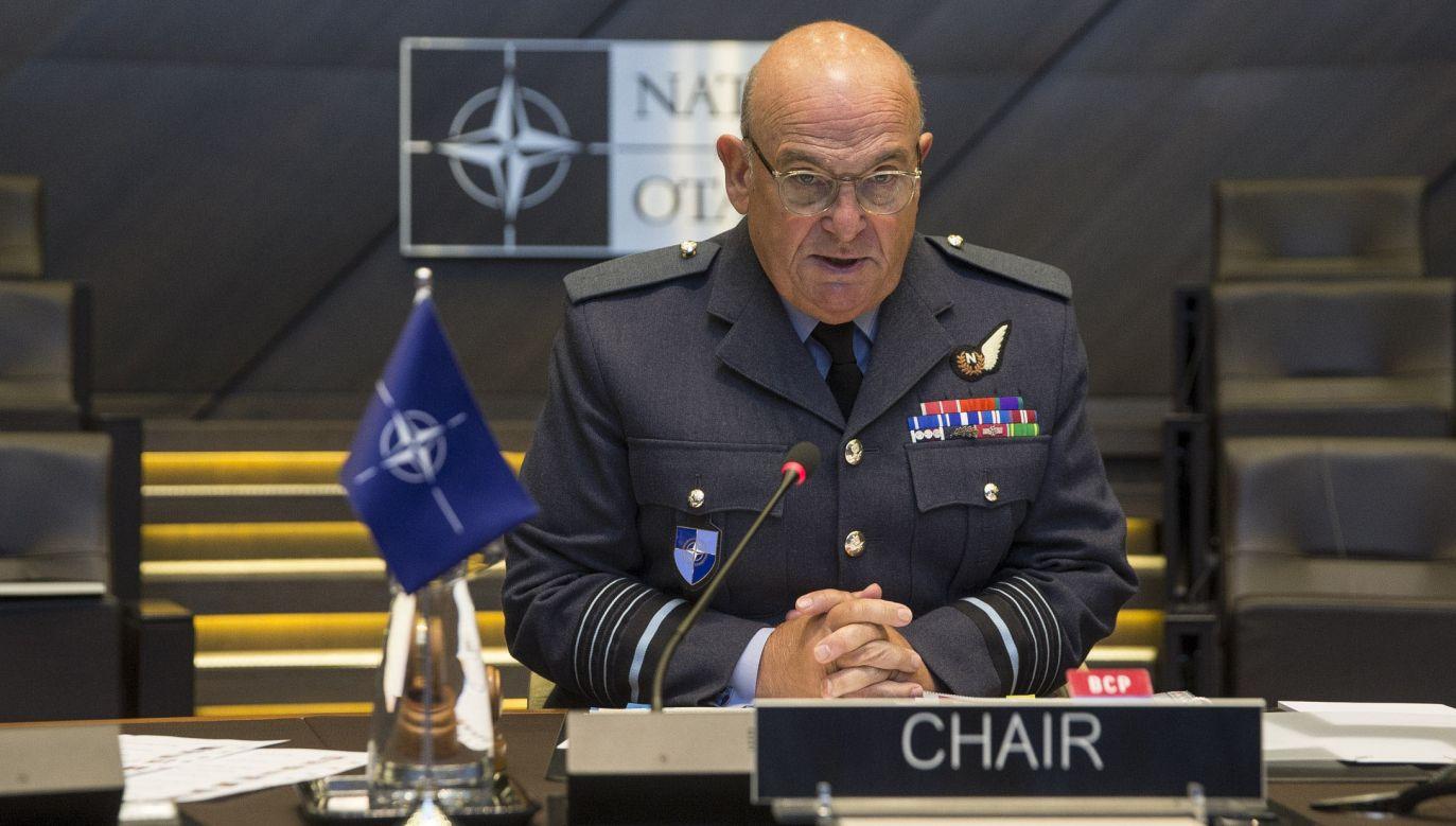 Sir Stuart Peach, the NATO Military Committee. Photo: Public domain