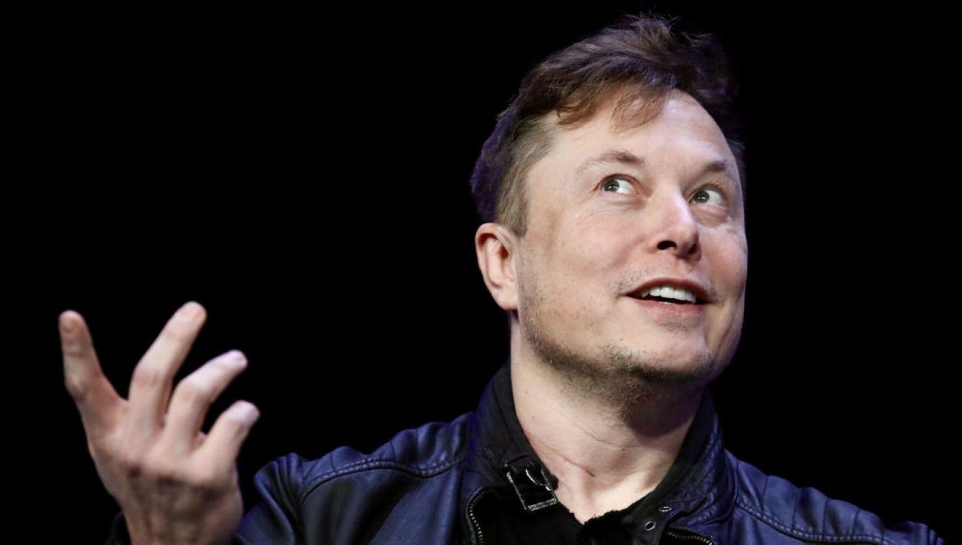 Elon Musk zachwycony Cyberpunkiem 2077 (fot. Win McNamee/Getty Images)
