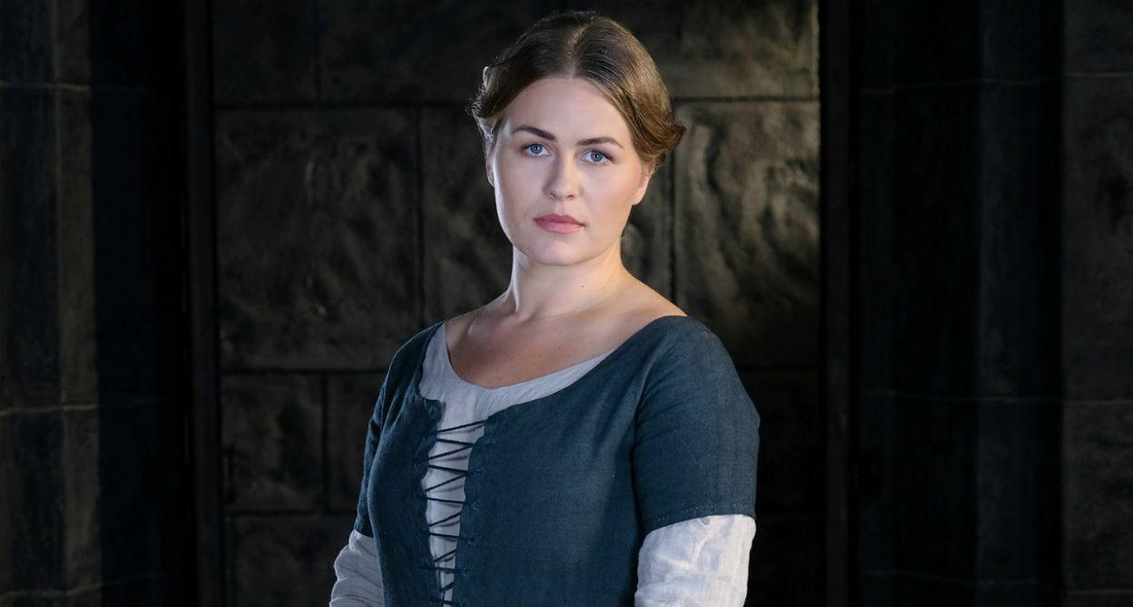W roli kucharki Gabiji wystąpiła Agata Bykowska (fot. TVP)