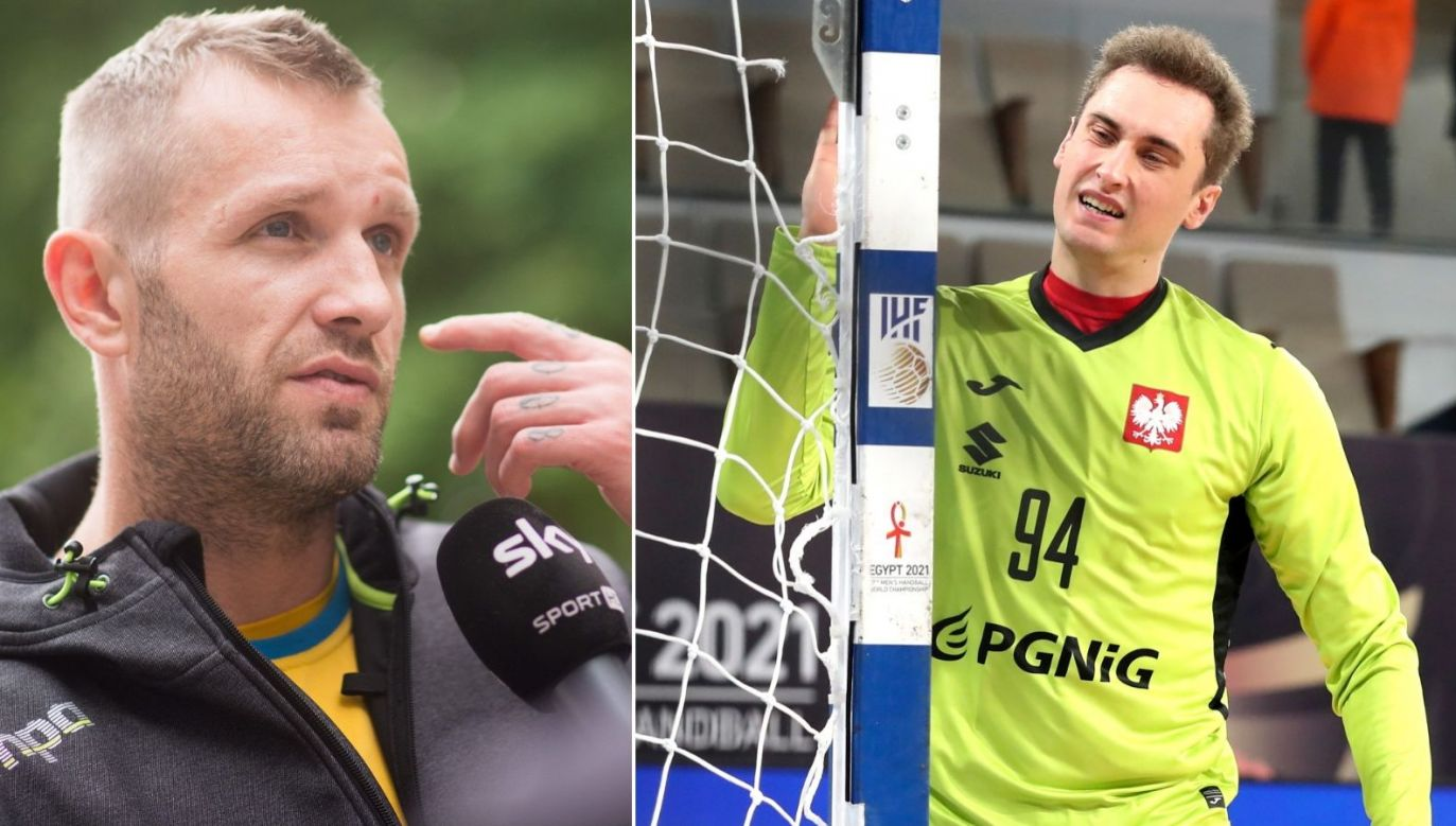 Grzegorz Tkaczyk (z lewej) z optymizmem spogląda na przyszłość polskiej reprezentacji (fot. PAP/EPA)