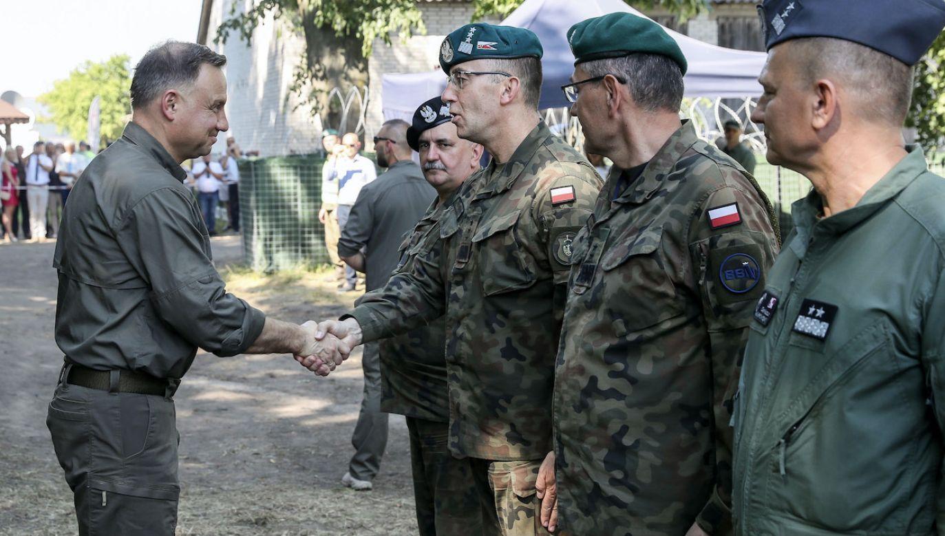Gen. Rajmund Andrzejczak pozostanie szefem Sztabu Generalnego WP (fot. Marek Borawski/KPRP)