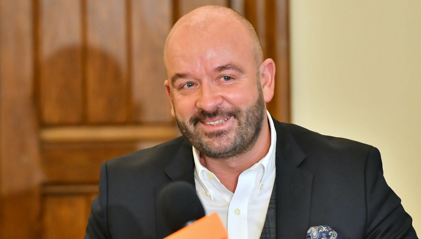 """""""Prezydent Sutryk długo nie chciał ujawnić wypłaconych kwot"""" (fot. PAP/Maciej Kulczyński)"""