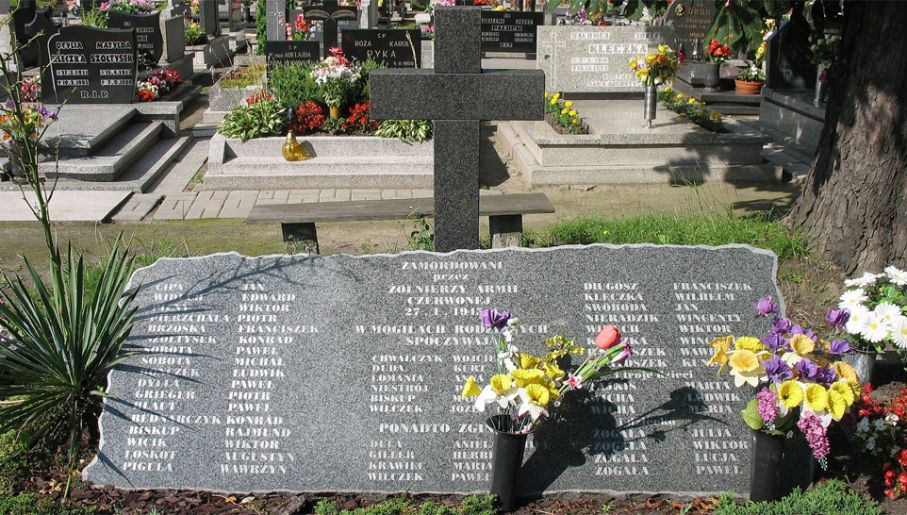 W czasach PRL przemilczano zbrodnie czerwonoarmistów (fot. Wiki/Tomasz Górny)