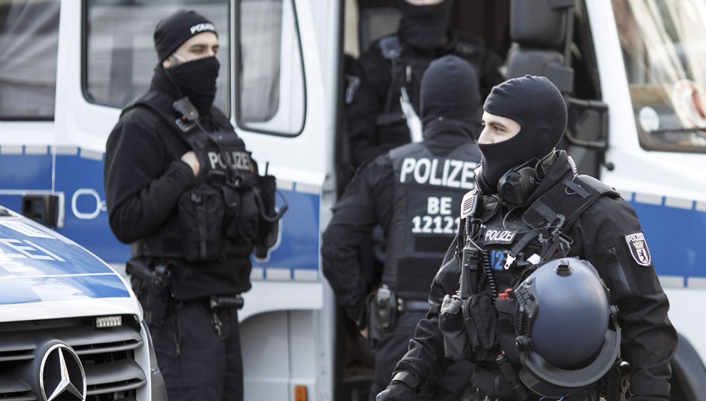 Trwa obława policji (fot. Carsten Koall/Getty Images)