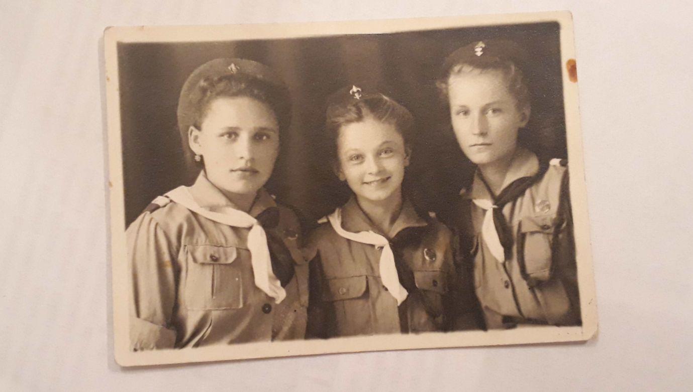 Siostry Gordziejko po opuszczeniu ZSRR z armią Andersa. Fot. zbiory Marii Gorodziejko