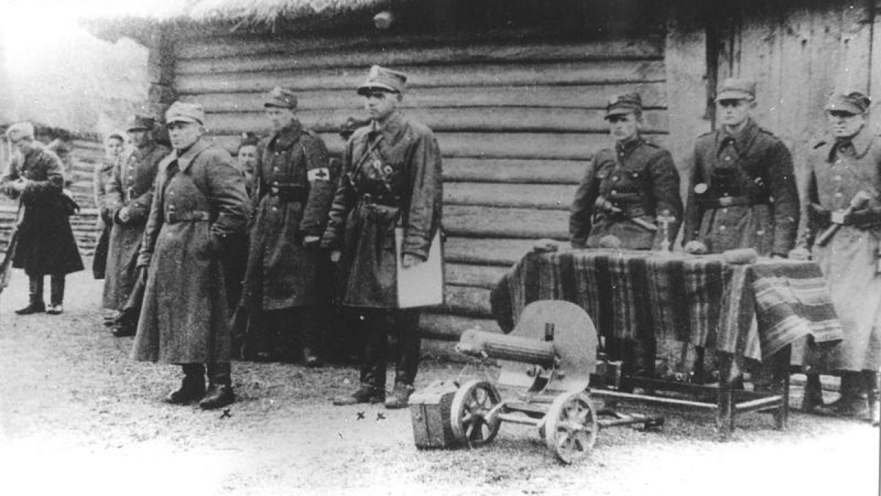 Przysięga żołnierzy Armii Krajowej (fot. Wikipedia)