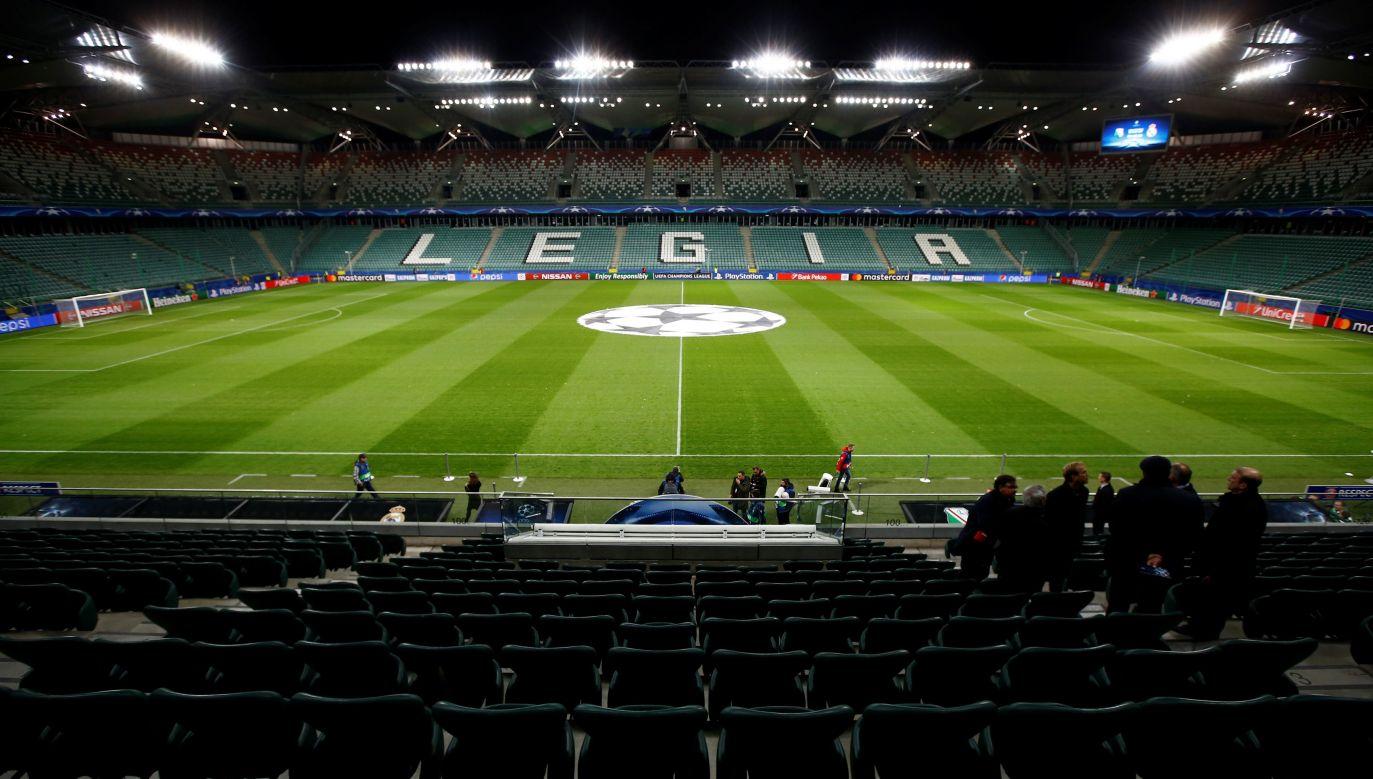 Do meczu pomiędzy Legią a Linfield dojdzie na stadionie w Warszawie (fot. Reuters/Kacper Pempel)