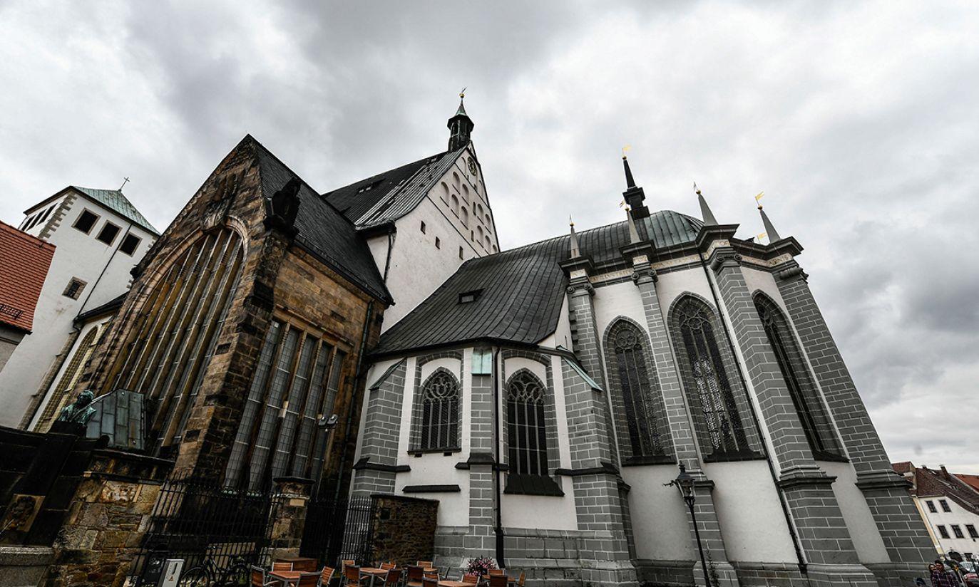 Kateda we Freibergu, Niemcy (fot. PAP/EPA/FILIP SINGER)