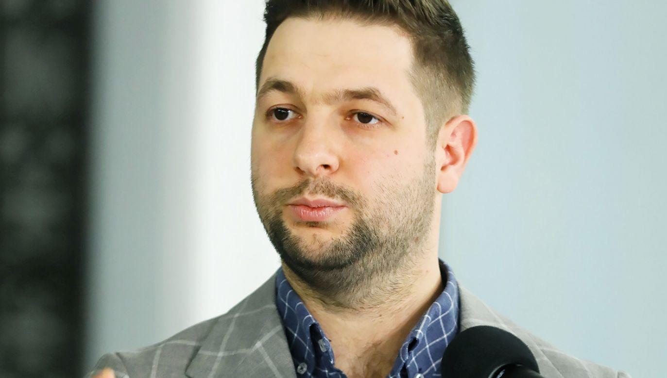 Syn Patryka Jakiego urodził się 6 lat temu z zespołem Downa (fot. PAP/Rafał Guz)