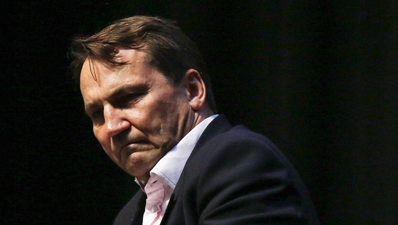 Oburzające zachowanie polityka PO (fot.  Michal Fludra/NurPhoto via Getty Images)