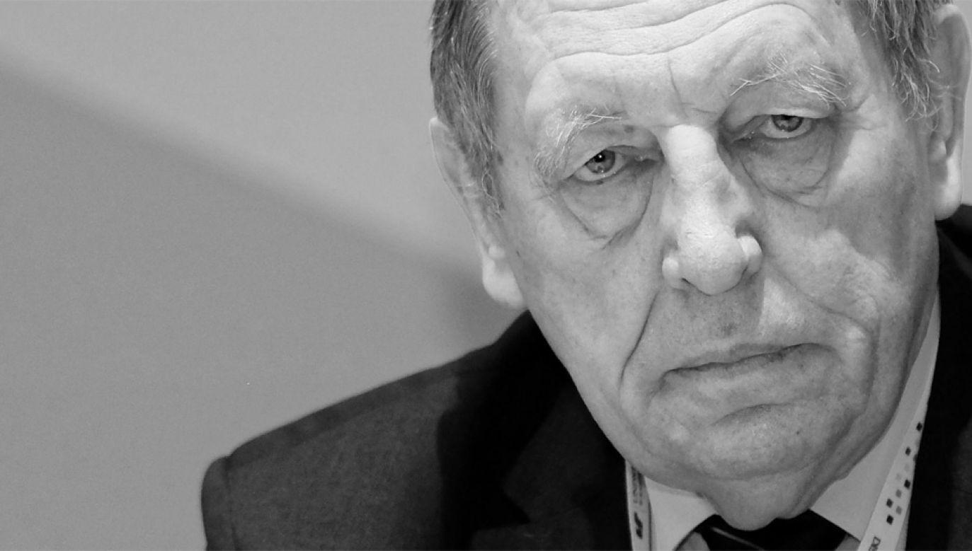 Prof. Jan Szyszko zmarł w wieku 75 lat (fot. PAP/Andrzej Grygiel)