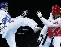 Rywalizacja w taekwondo przyniosła wielkie emocje (fot.PAP)