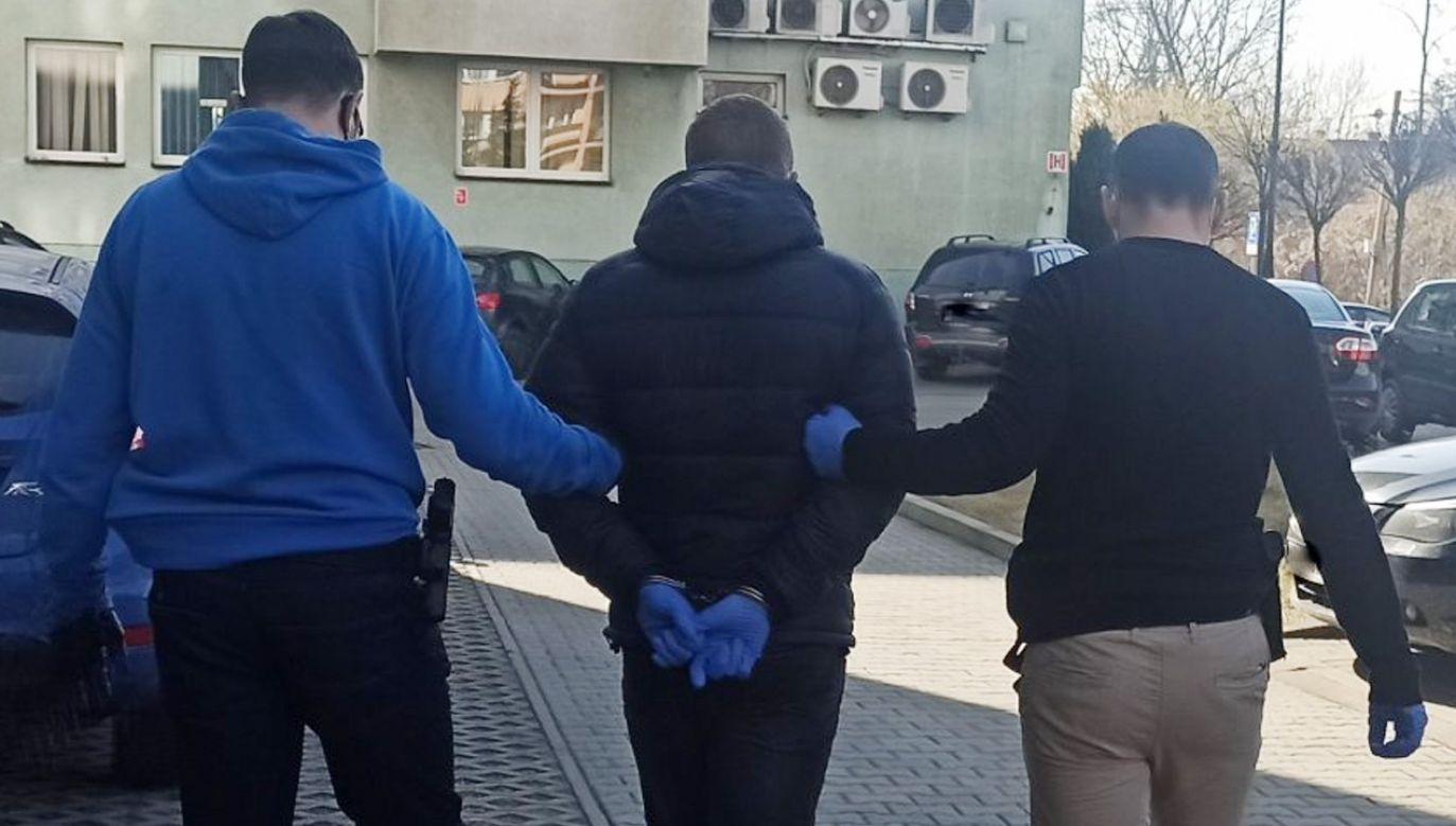 Pedofil wpadł w sidła policjantów (fot. Policja)