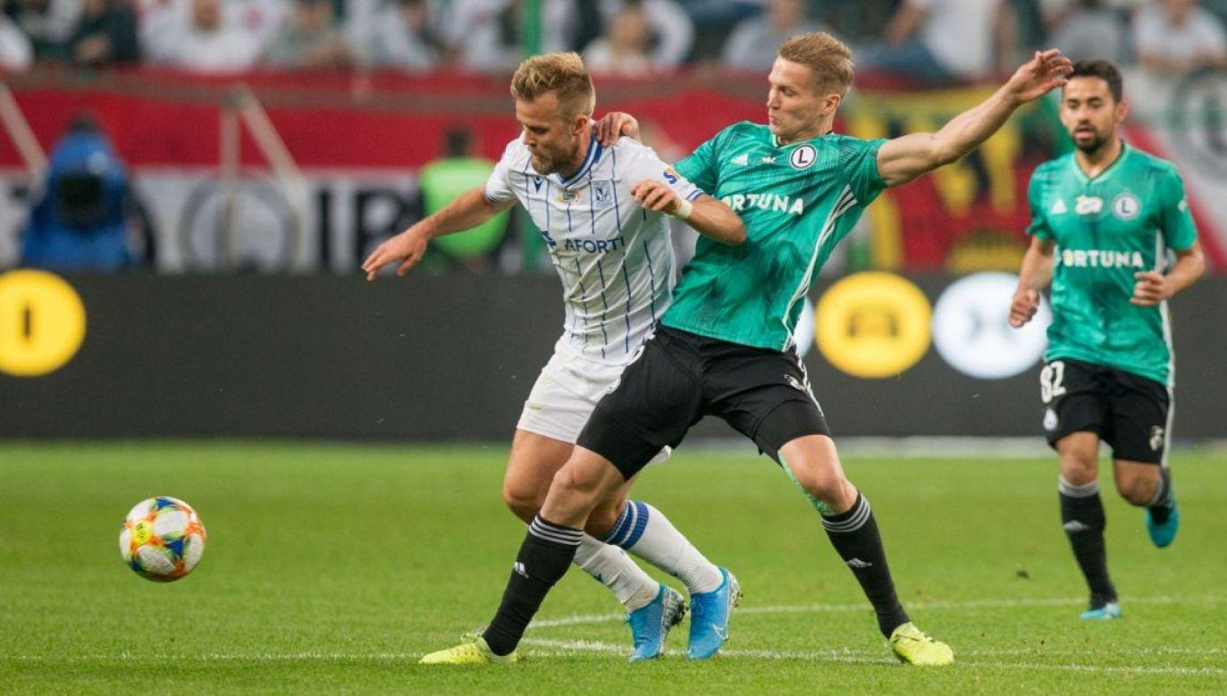 Mecz Lecha z Legiąmoże zamieszać układem ligowej tabeli. Liga będzie ciekawsza? (fot. Getty Images)