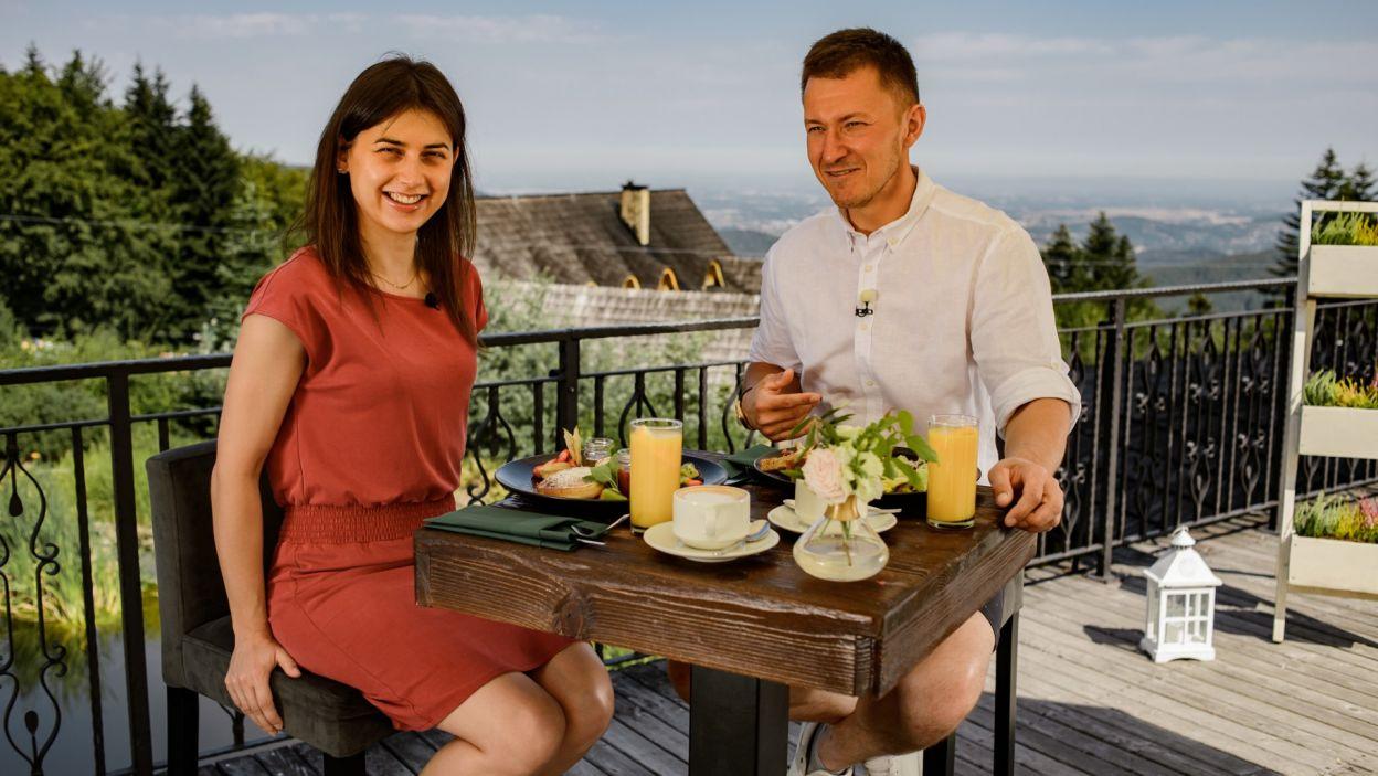 Ilona i Maciej spędzili razem romantyczny weekend w górach  (fot. TVP)