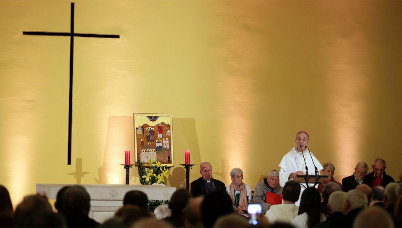 Po raz pierwszy chrześcijańscy męczennicy zostali ogłoszeni błogosławionymi w muzułmańskim kraju (fot. PAP/EPA/STRINGER)