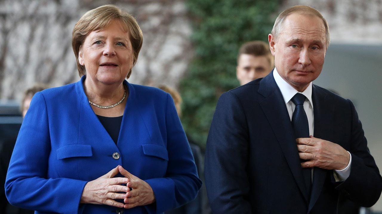 Berlin nie przejmuje się zagrożeniem ze strony Rosji (fot. Adam Berry/Getty Images)