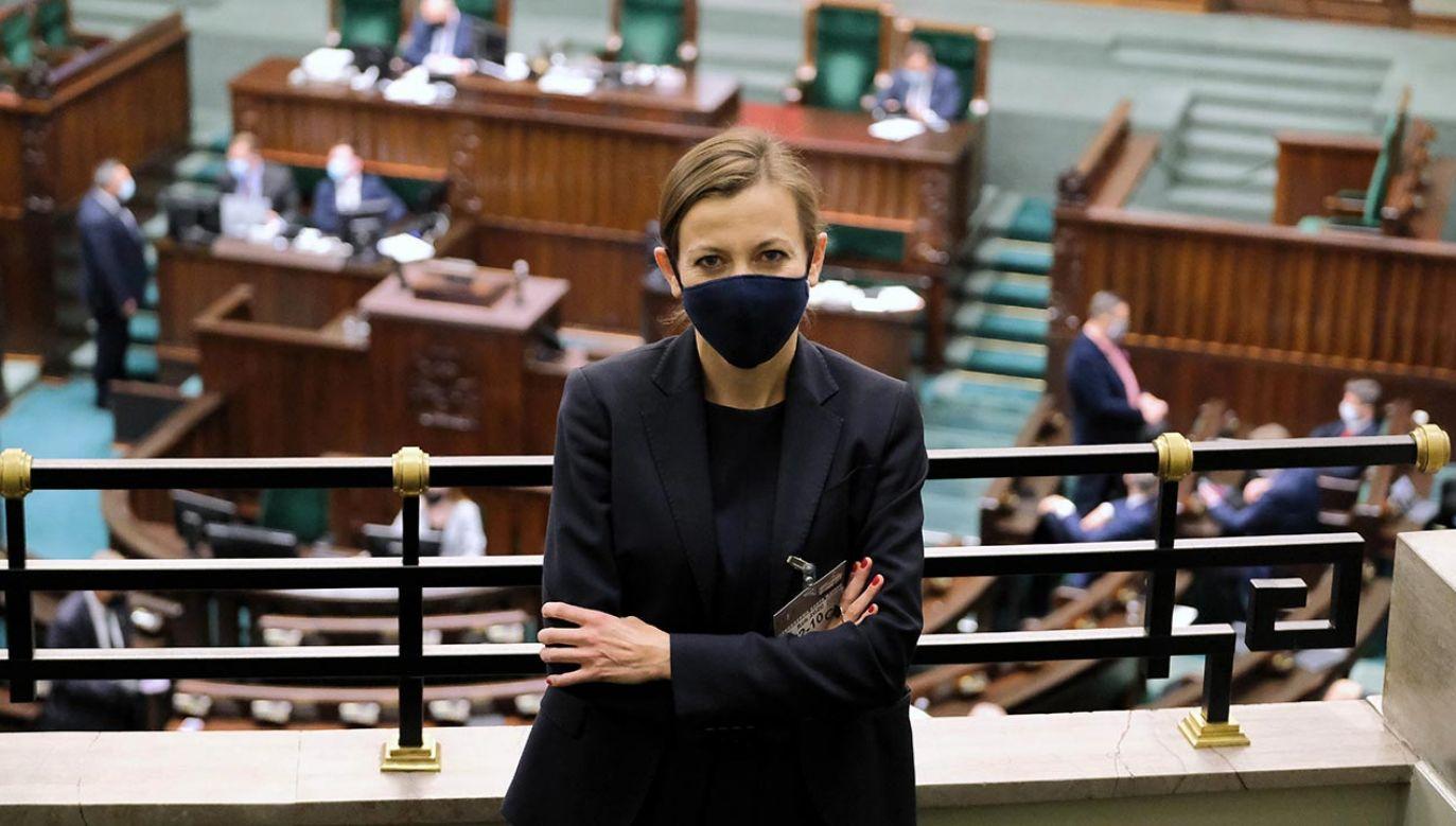 Sejmowe komisje negatywnie zaopiniowały kandydaturę Rudzińskiej-Bluszcz (fot. PAP/Mateusz Marek)