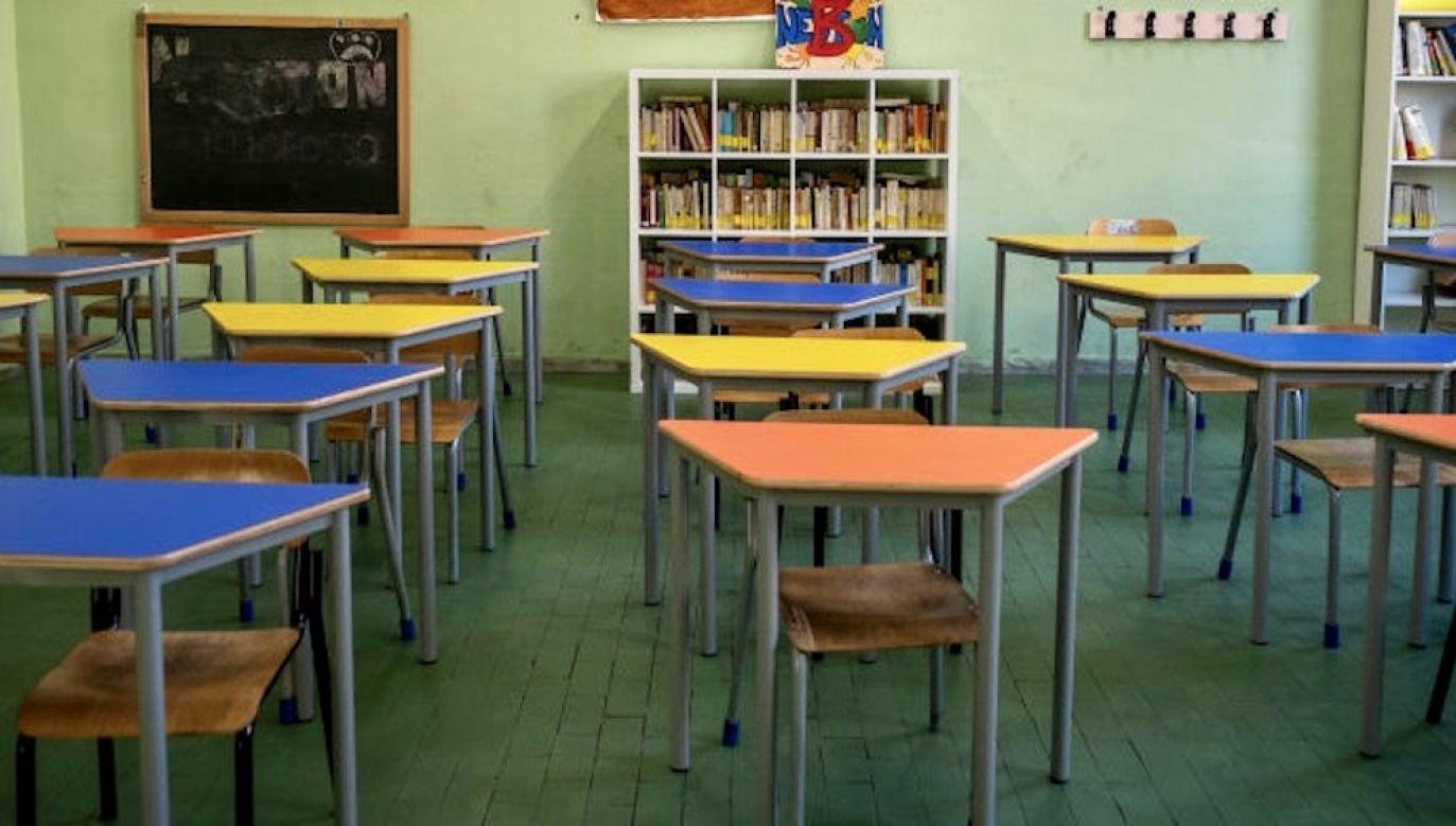 Do tej pory przypadki koronawirusa odnotowano łącznie w sześciu szkołach w Poznaniu (fot. Getty Images, zdjęcie ilustracyjne)
