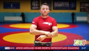 Tadeusz Michalik z brązowym medalem igrzysk w Tokio (fot. TVP Info)
