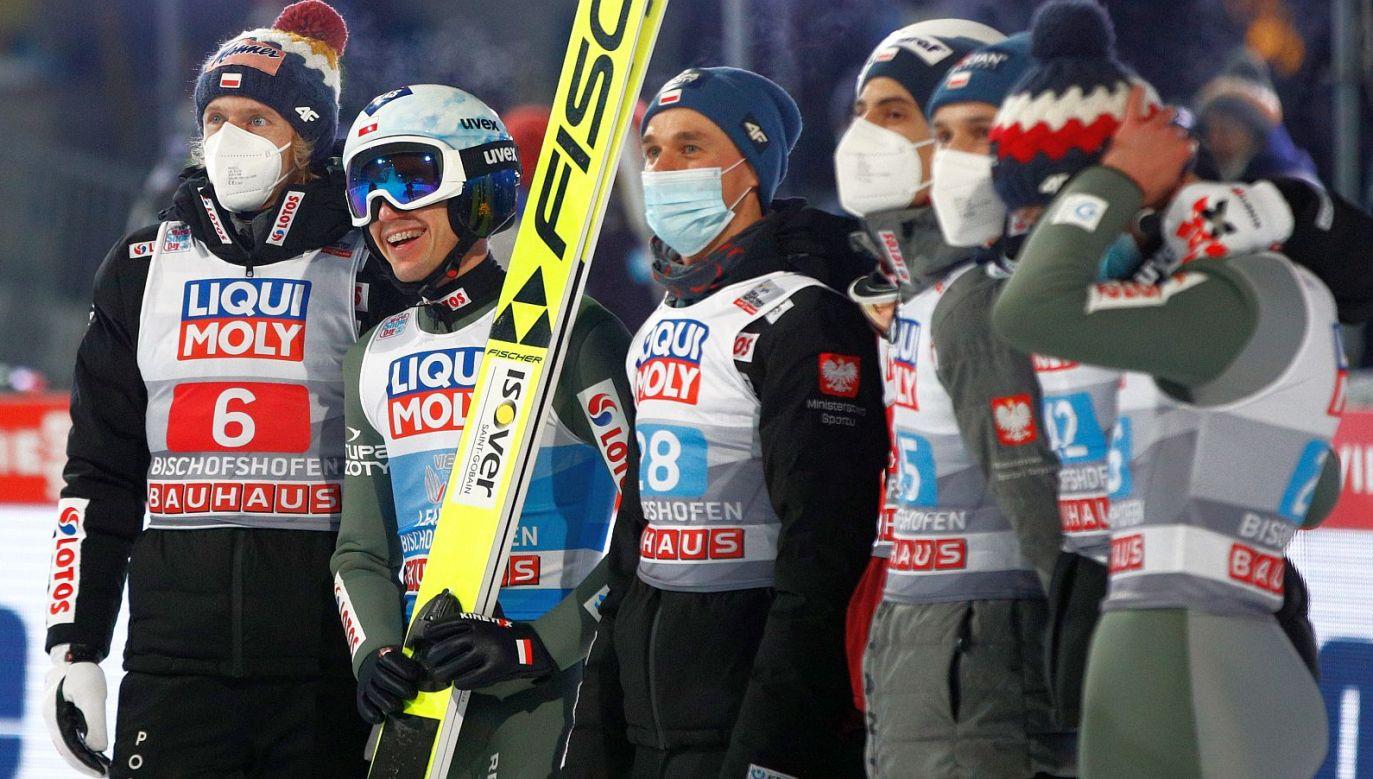 Kamil Stoch wygrał tegoroczny konkurs w Bischofshofen i cały Turniej Czterech Skoczni (fot. Getty)