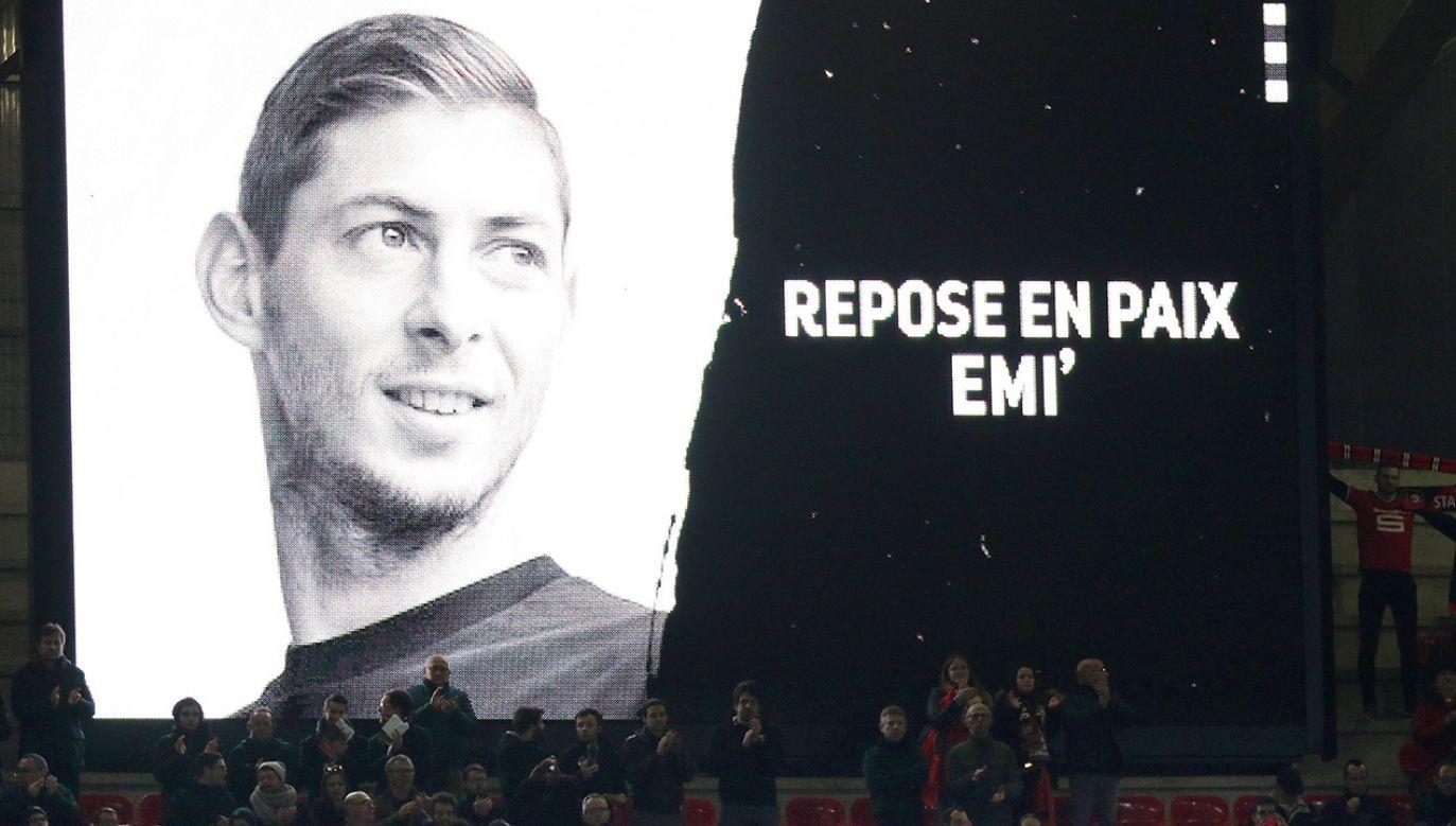Argentyński piłkarz Emiliano Sala krótko przed śmiercią przeszedł z FC Nantes do Cardiff City (fot. arch.PAP/ EPA/EDDY LEMAISTRE)