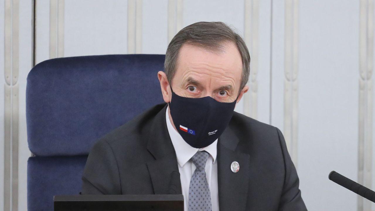 Marszałek Senatu RP Tomasz Grodzki (fot. PAP/Paweł Supernak)