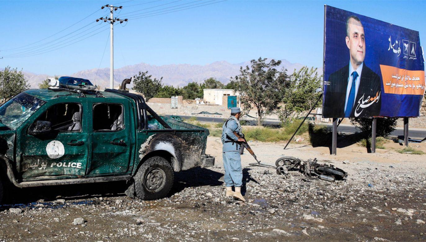 W Afganistanie wciąż jest niespokojnie (fot. PAP/EPA/HEDAYATULLAH AMID)