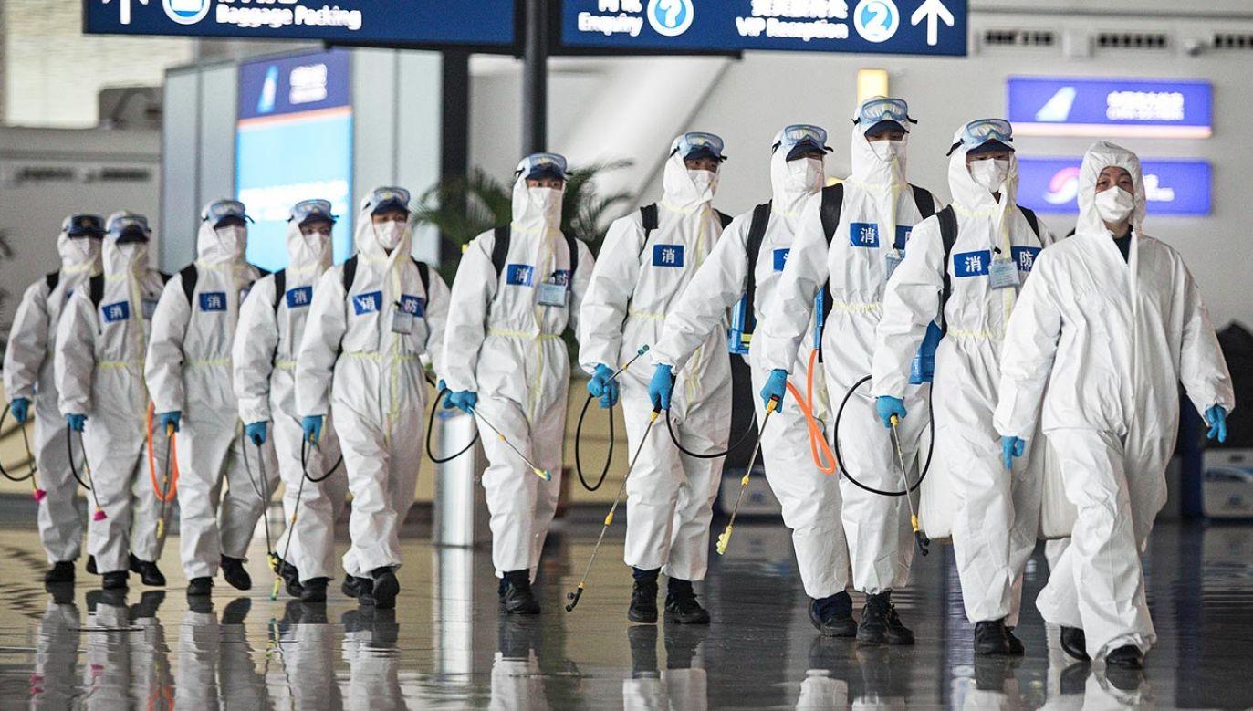 WHO ogłosiło pandemią koronawirusa 11 marca br. (fot. Getty Images)