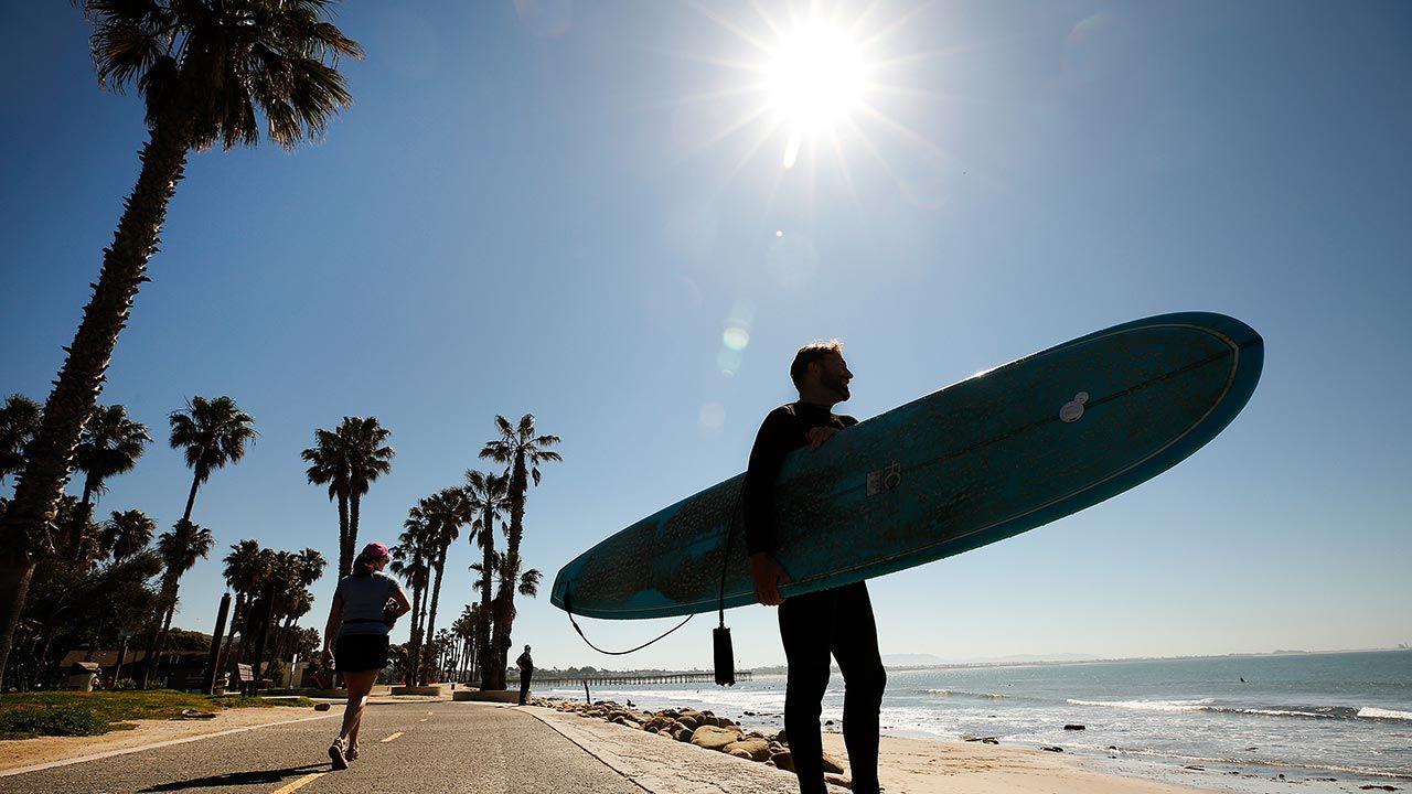 """""""Zmierzamy w kierunku katastrofalnego wzrostu średniej temperatury"""" (fot. Al Seib / Los Angeles Times via Getty Images)"""