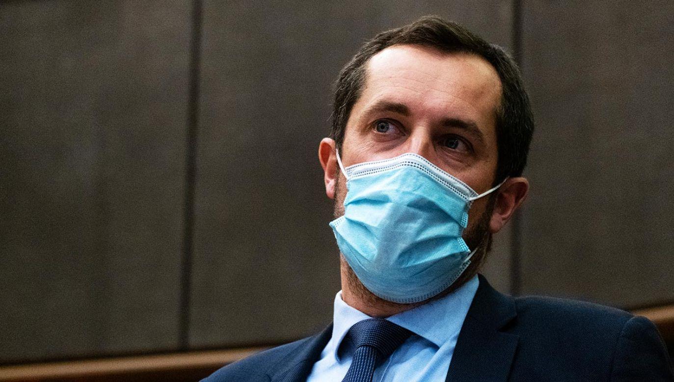 Nicolas Bay z francuskiego Ruchu Narodowego podczas wtorkowej debaty w Parlamencie Europejskim (fot. Shutterstock/martinbertrand.fr)