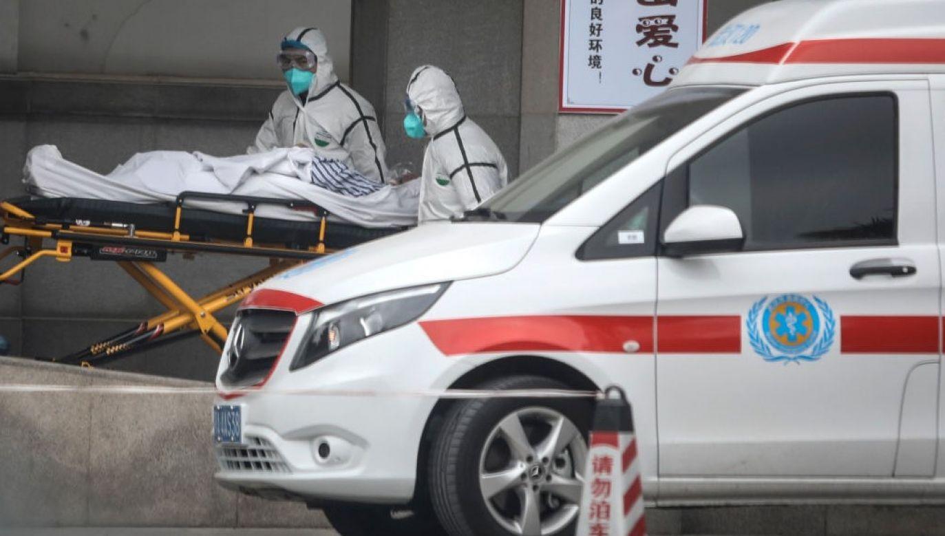 Dotychczas tzw. koronowirus spowodował śmierć 2 osób (fot. China OUT/Getty Images)