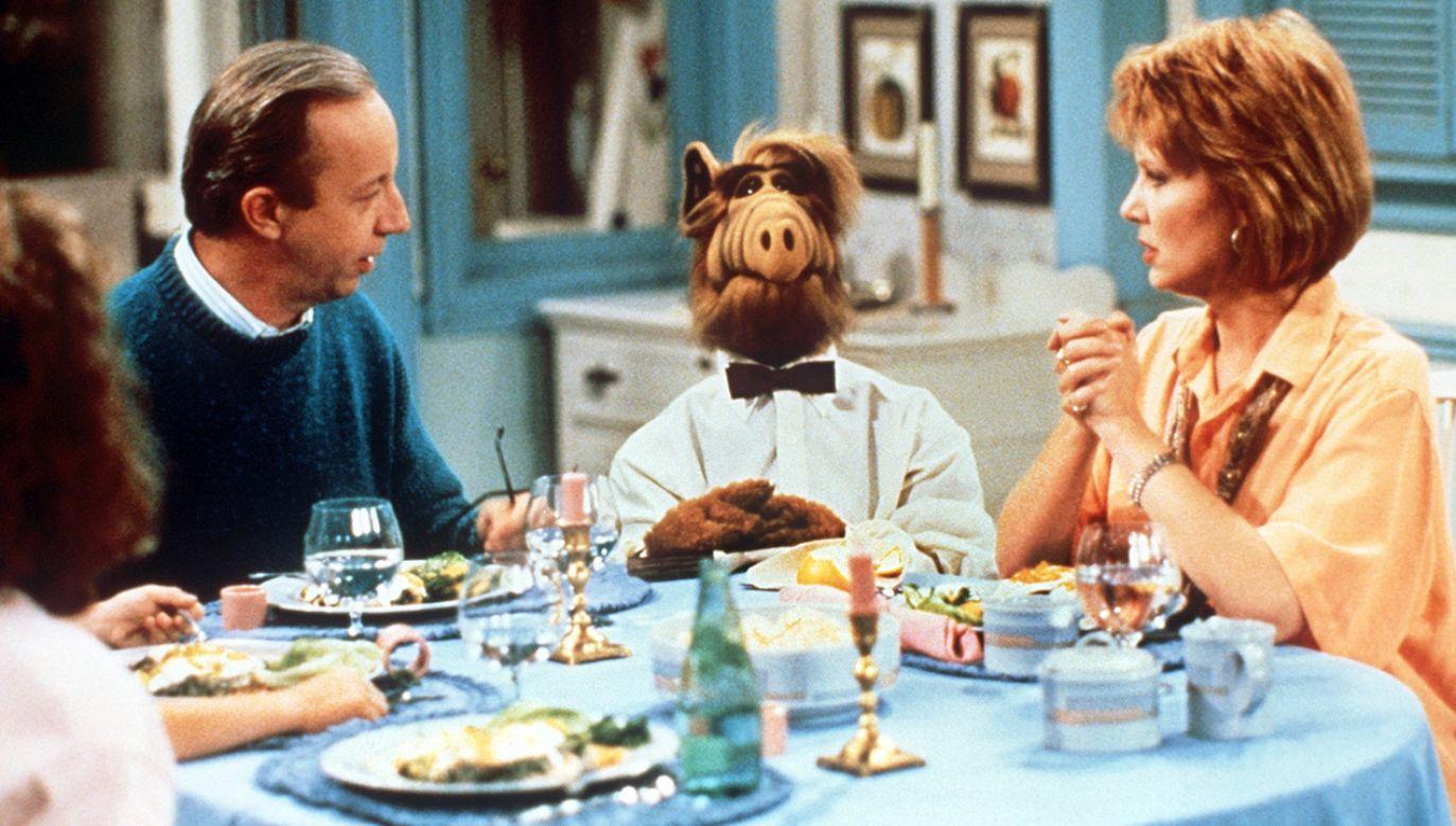 """Serial """"Alf"""" był emitowany w latach 1986-90 (fot. arch.PAP/DPA)"""